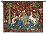 Fine Art Tapestries Tree Of Life Midnight Blue Large Wall Tapestry 2052-WH 53 inches wide by 77 inches long, 100% cotton