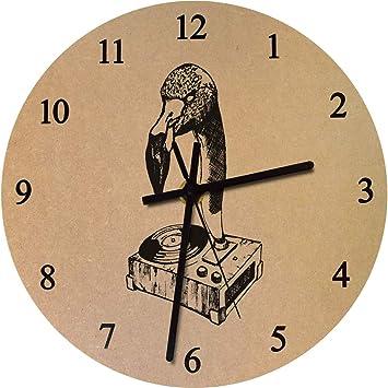 Azeeda 275mm Flamenco Tocadiscos Reloj de Pared Grande de MDF ...