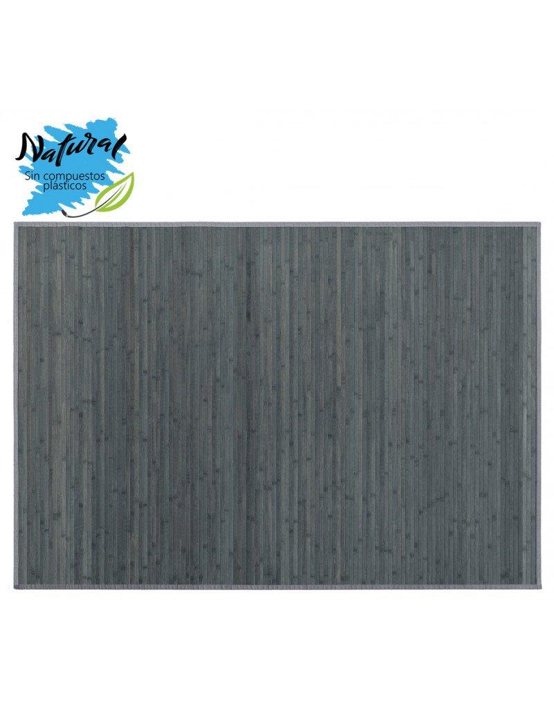 Hogar y Mas Teppich Bambus-Farbe grau für Wohnzimmer oder Schlafzimmer. Design France. 200 x 300 cm - Haus und mehr B07CMHYK3P Teppiche