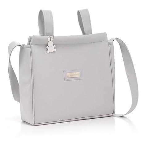 Cambrass Elegance - Bolso panadera, color gris