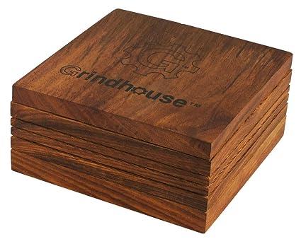 Grindhouse Wood Pollen Box 5 X 5
