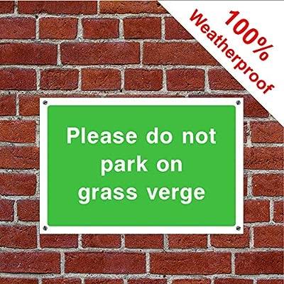 Por favor no aparcar en la hierba compatible para verge ...