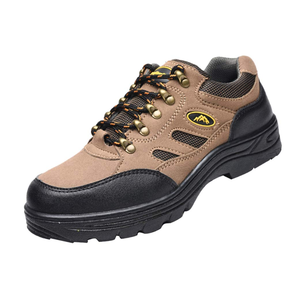 Baosity Safety Shoes for Men Safety Boots Steel Toe Cap Anti-pierce Size US 8-12 - EU 46 US 12 UK 11.5