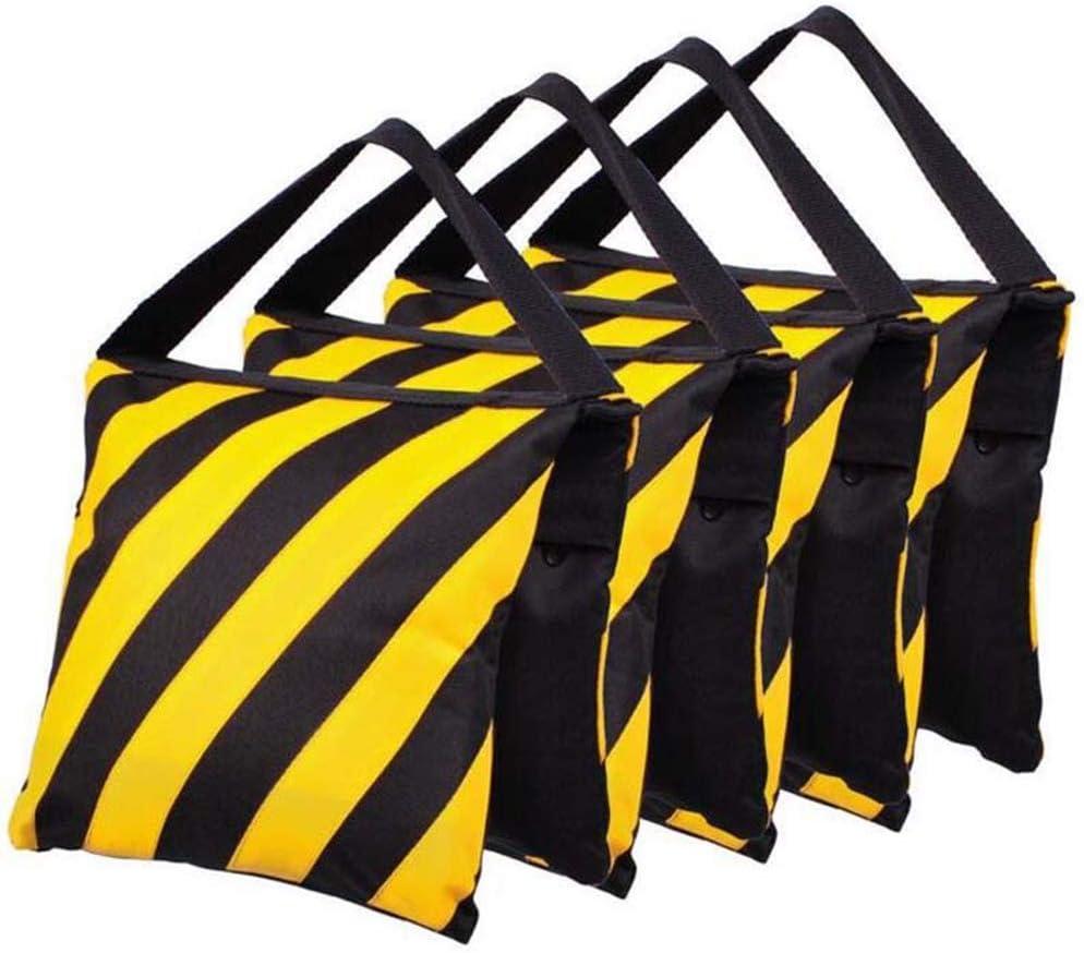 BEESCLOVER Stripe Balance Weight Double Layers Sandbag for Tripod Boom Flash Light Stand Navy Blue