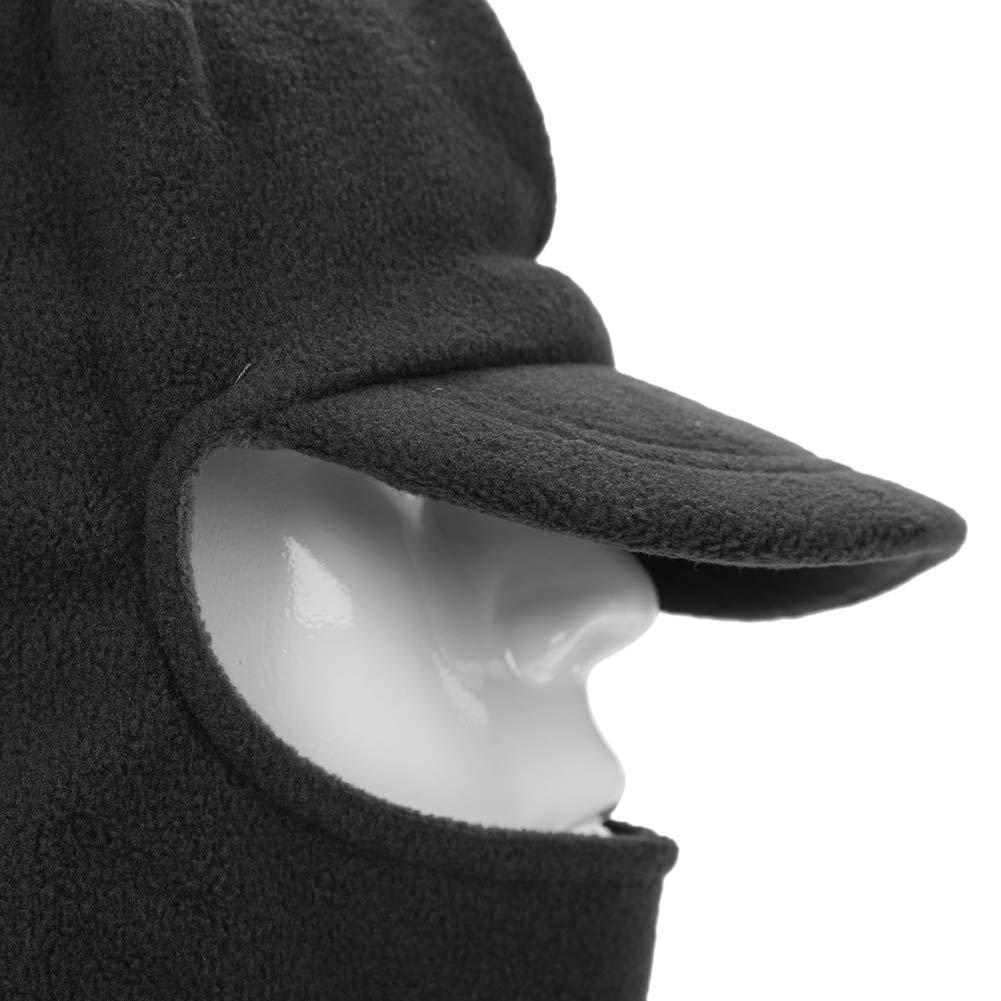 ITODA Passamontagna Invernale Unisex Cappuccio Cappello Scaldacollo in Pile Maschera da Sci Termica Antivento Copriscarpa a Pieno facciale Sciarpa Cappuccio Fazzoletto per Ciclismo allaperto Sci