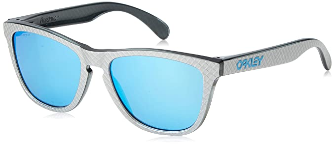 Oakley Frogskins 9013c0 Gafas, CHECKBOX SILVER/PRIZMSAPPHIRE ...