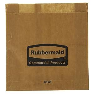 Rubbermaid White Paper Sanitary Napkin Bags for Sanitary Napkin Dispenser