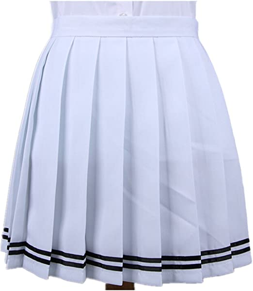 Ssowun Fletion Falda Plisada Japonesa cos Falda Macarons Falda ...