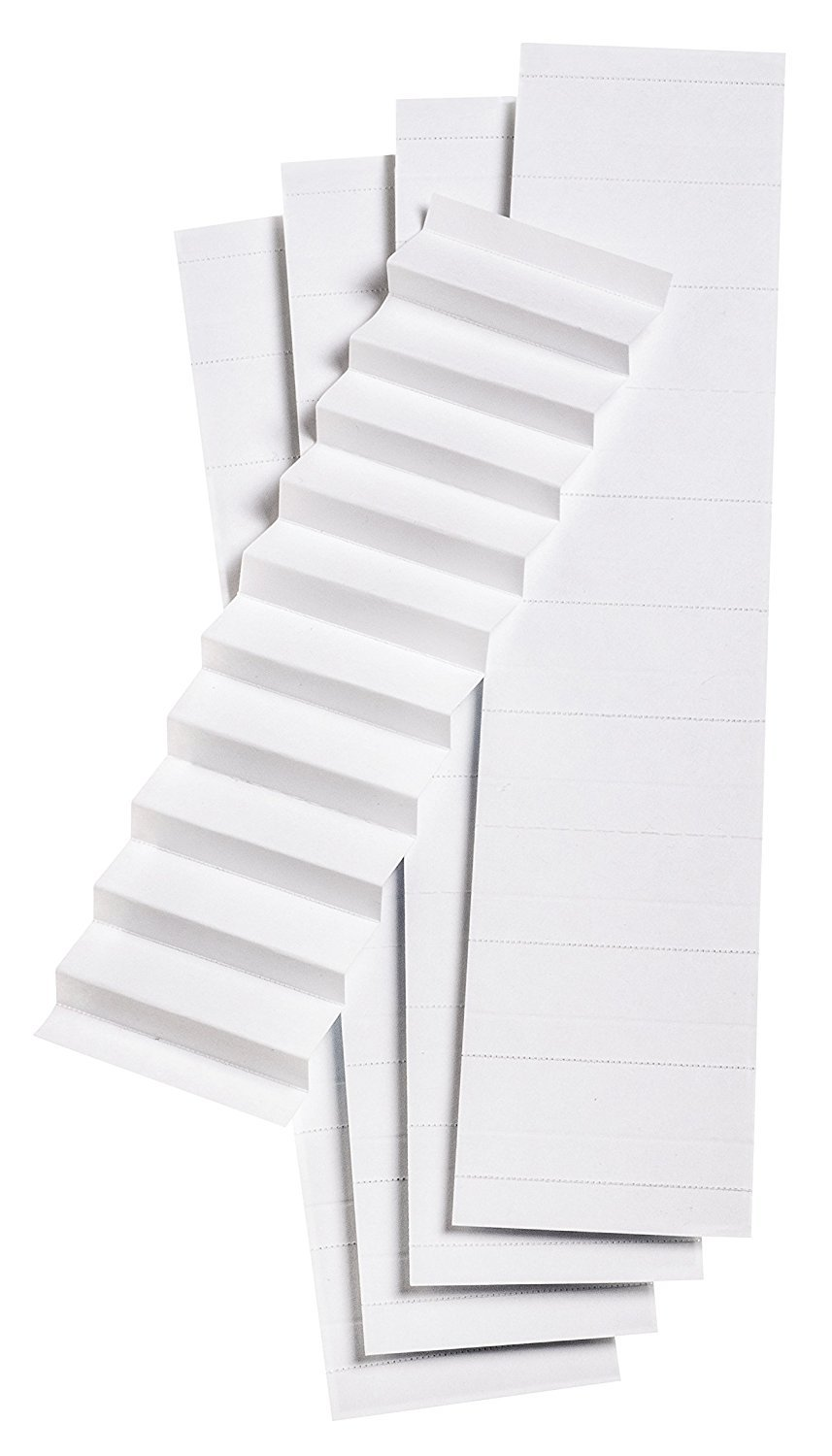 Pendaflex Blank Inserts for 1/5 Cut Hanging File Folders, 2 in, White, 100/Pack (242) (3)