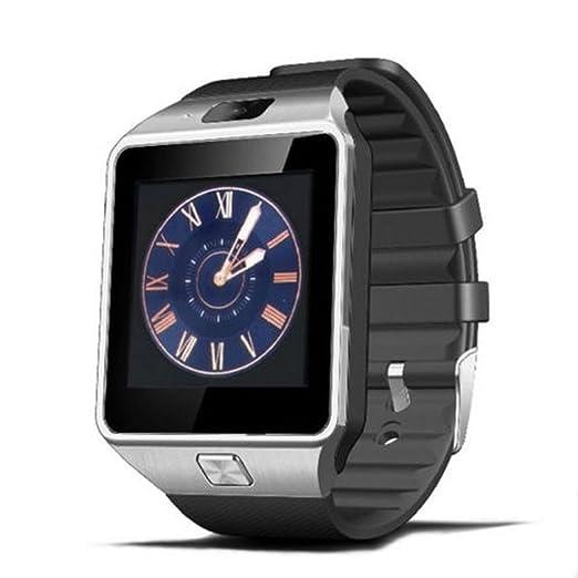 Xinan Reloj Inteligente de Pulsera Muñeca Impermeable de DZ09 Deportivo Bluetooth 3.0 Multifunciones Correa reemplazable con