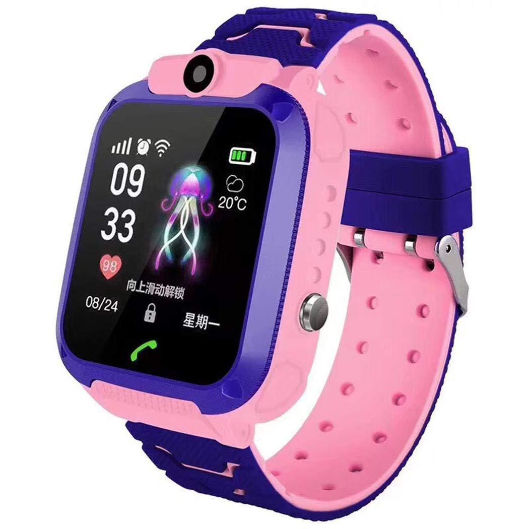 Kikole Deep Waterproof Q12 Children Smart Positioning Phone Watch Smart Watches