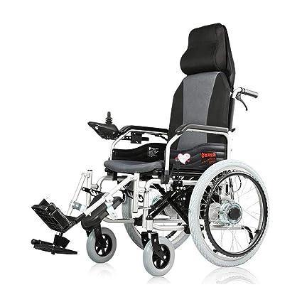 Y&XF Silla de Ruedas eléctrica Anciano Coche discapacitado Anciano ...