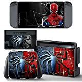 Ci-Yu-Online VINYL SKIN [NS] Spider Man STICKER DECAL COVER for Nintendo Switch Console and Joy-Con Controllers