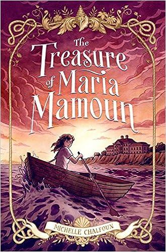 cover image, the treasure of maria mamoun