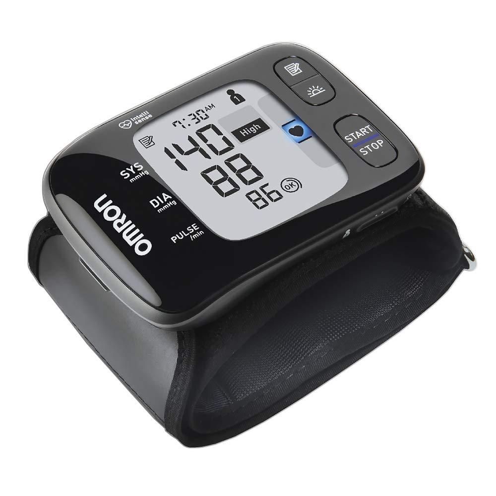 Omron HEM 6232T Wrist Blood Pressure Monitor (Black)