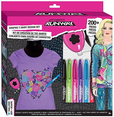 Project Runway Fashion Angels Graphic T-Shirt Studio-Box Set
