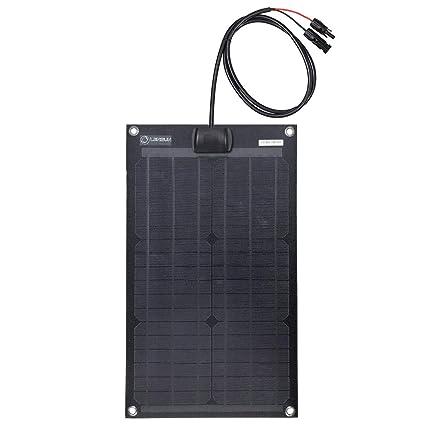 Amazon.com: Lensun® 12V Panel Solar monocristalino ...