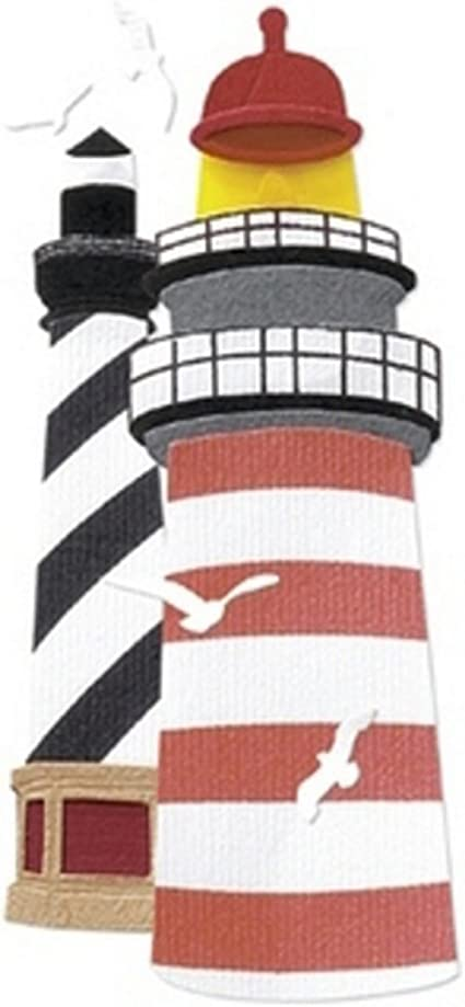 Lighthouse A Touch Of Jolee/'s A Day At The Beach Dimensional Stickers
