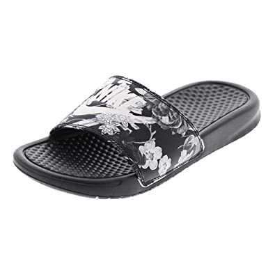 07266af3d Nike Women s WMNS Benassi JDI Print Fitness Shoes  Amazon.co.uk ...