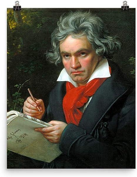 Amazon.com: Ludwig Van Beethoven Composer Print Poster