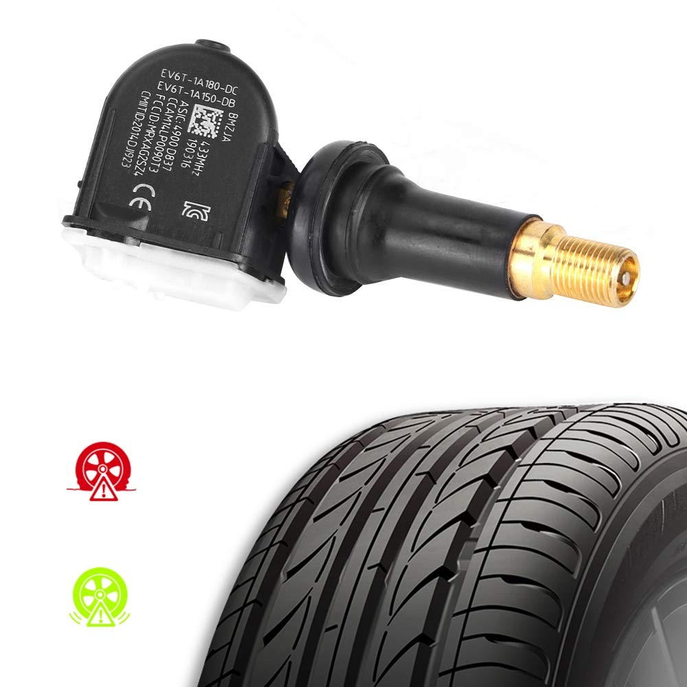 Sistemi di monitoraggio della pressione dei pneumatici di qualit/à 2014 + EBTOOLS Sensore di monitoraggio della pressione dei pneumatici B460 EV6T1A180DC EV6T1A150DB Fit for Courier TPMS