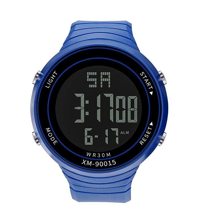 Unisex Electrónico Relojes de Pulsera, YpingLonk Militar Deporte LED Analógico-Digital para Regalo Impermeable Reloj de Pulsera: Amazon.es: Ropa y ...