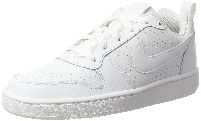 Nike Wmns Court Borough Low, Zapatillas de Baloncesto para Mujer 42 EU|Blanco (Blanco (White/White-white))