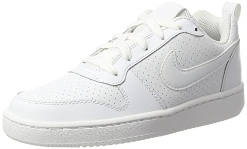 Nike Court Borough Low, Zapatillas de Deporte Unisex Adulto, Blanco (White), 38 EU: Amazon.es: Zapatos y complementos