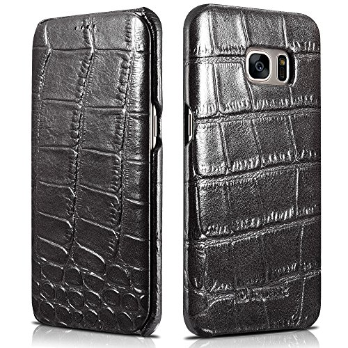Genuine Leather Embossed Alligator Cowhide product image