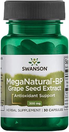 Swanson Meganatural-Bp Grape Seed Extract 300 Milligrams 30 Capsule