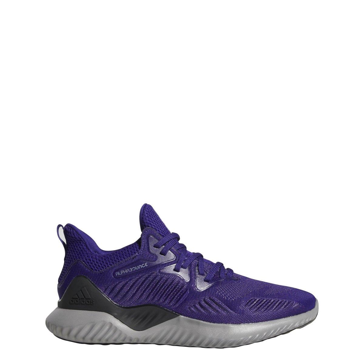 adidas Alphabounce Beyond Team Shoe Men's Running B077XMT5XW 12.5 D(M) US|Real Purple/White/Black