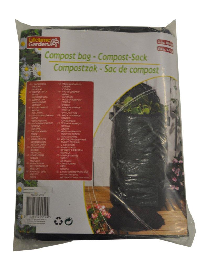 Lifetime Garden 45559Kompost Tasche 80x 47cm 130Liter 871125245559