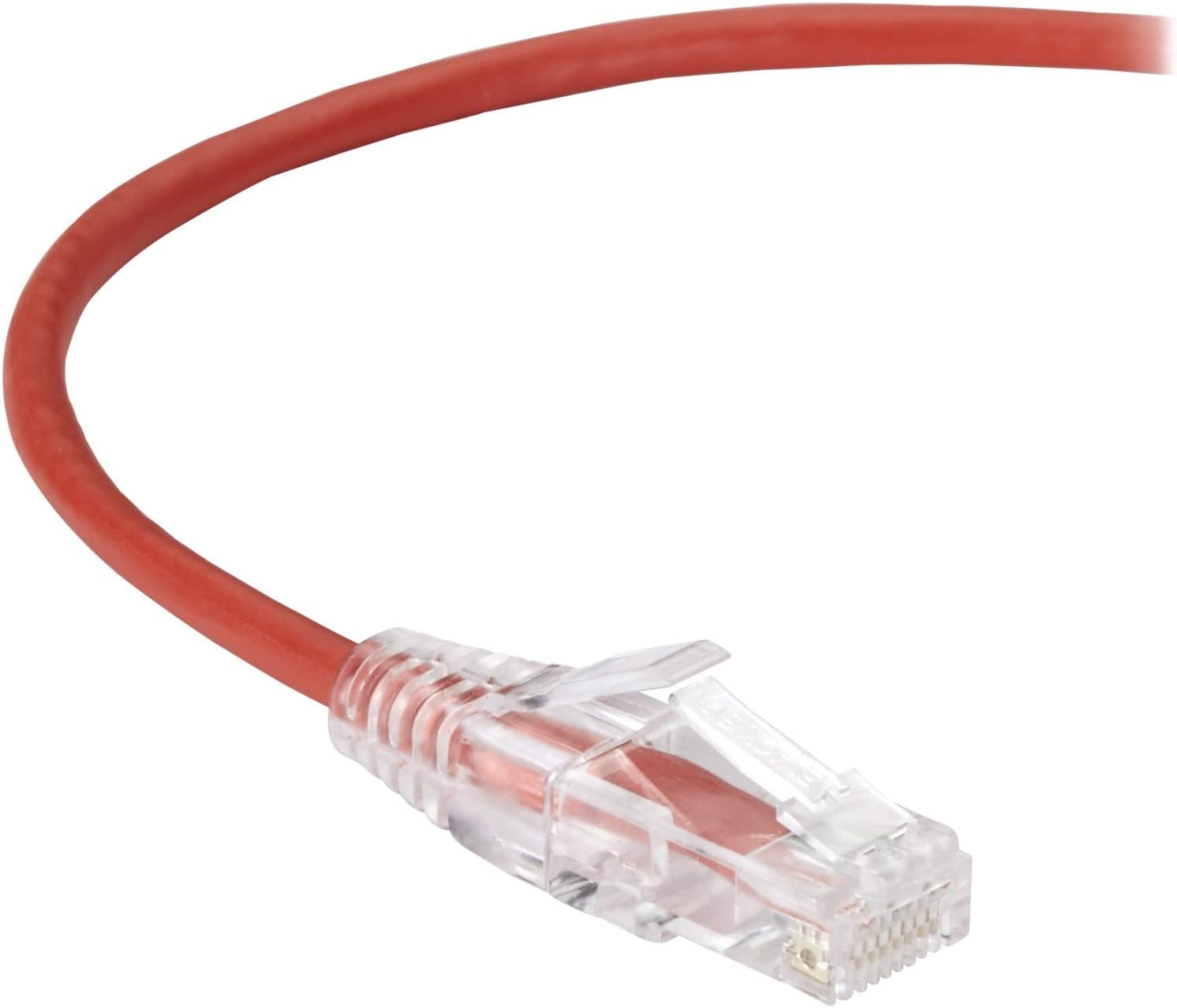Black Box Network Services 2Ft Red Cat6 Slim 28Awg Patch C