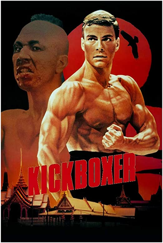Amazon Com Lywusuze Kickboxer Movie Jean Claude Van Damme Kung Fu Fighting Art Poster Print Canvas Home Decor Picture Wall Print 50x70cm No Frame Posters Prints