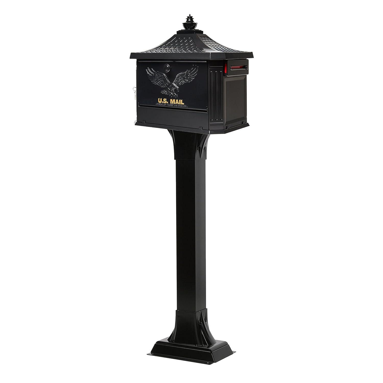 Gibraltar Mailboxes HEK00B01 Hemingway Security Mailbox Large Black