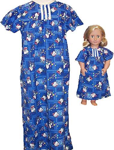 サイズ7 Girl Matching Girl Nightgown サイズ7 and Doll Kitty Nightgown B00ZZQ1WXS, ナカイ製菓:7c653a60 --- arvoreazul.com.br