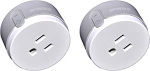 Zerospace WiFi Smart Plug Compatible with Alexa and Google Assistant