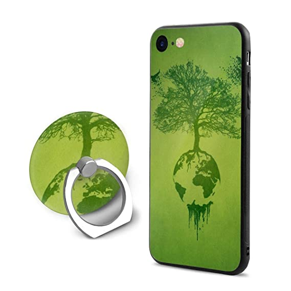 Amazon com: Fashion iPhone 8 Case iPhone 7 Case Trees Nature Green