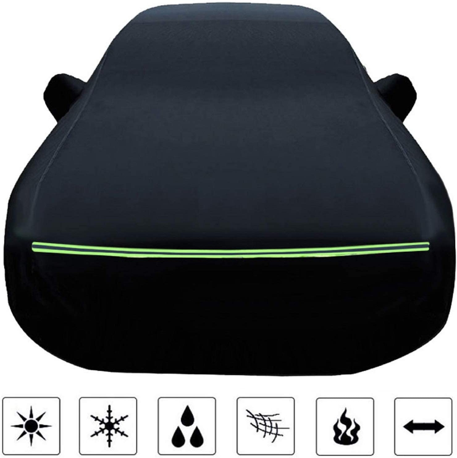 Color : Black, Size : M2 N/&A Black Car Cover Compatible with BMW M,M2,M235,M235 Gran Coupe,M240,M3,M340,M4,M5,M550,M6,M6 Gran Coupe,M760,M8,M8 Gran Coupe,M850,M850 Gran Coupe
