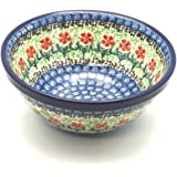 Polish Pottery Bowl - Salad/Cereal - Maraschino