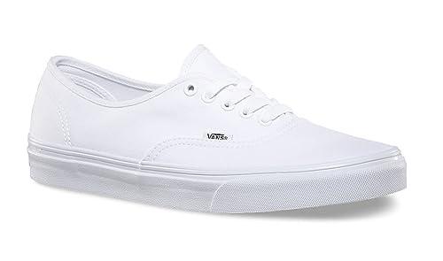 Vans Authentic True White Sneakers Unisex Shoes Skate (4 Men  5.5 Women) f69505659f