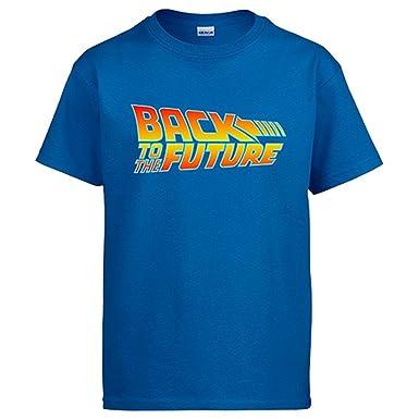 Camiseta Back to The Future Regreso al Futuro  Amazon.es  Ropa y accesorios e590532a3cd