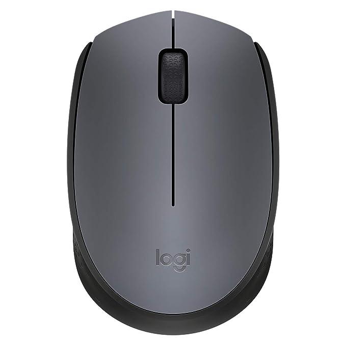 Logitech M171 Wireless Mouse Grey/Black Mice