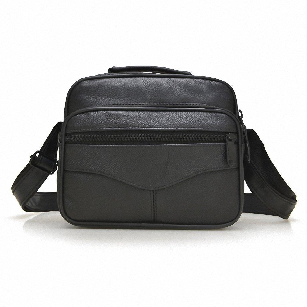 Amazon.com  100% Leather Men Bag Luxury Designer Vintage Business Messenger  Bags Shoulder Crossbody Bag Men Male Bag Horizontal big  Sports   Outdoors cacd71d4b8
