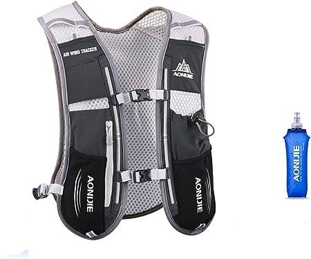 AONIJIE 5L High Visibility Reflective Vest Sport Water Bottle Backpack Bag N8M6