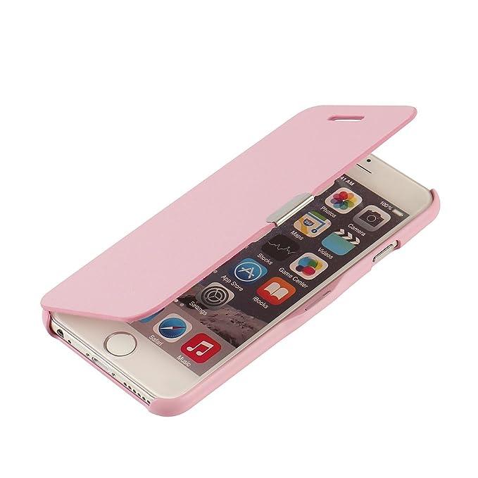 MTRONX für iPhone 6s Plus Hülle, iPhone 6 Plus Hülle, Case Cover Schutzhülle Tasche Etui Klapphülle Magnetisch Dünn Leder Fol
