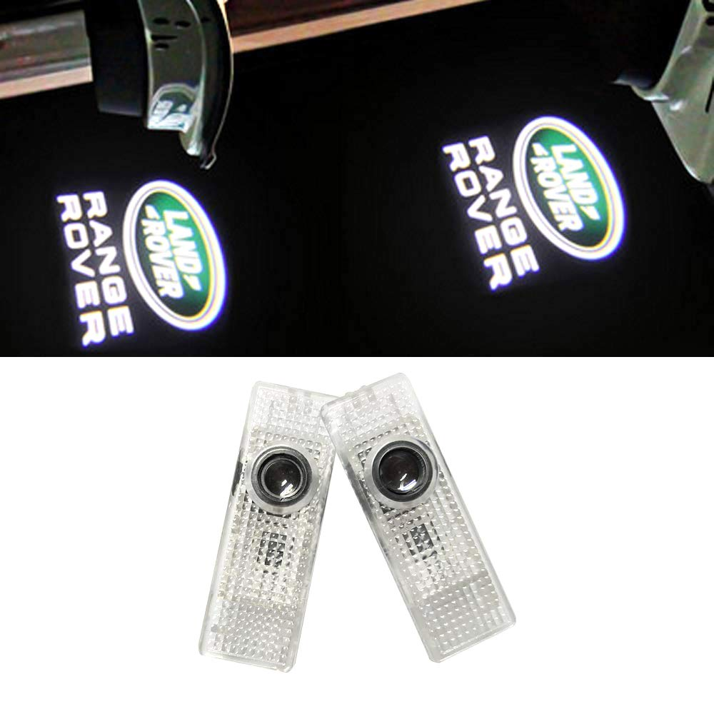 LIKECAR 2 Stü ck Car Styling Willkommen Logo Tü r schieß en Licht OPEL Insignia Logo
