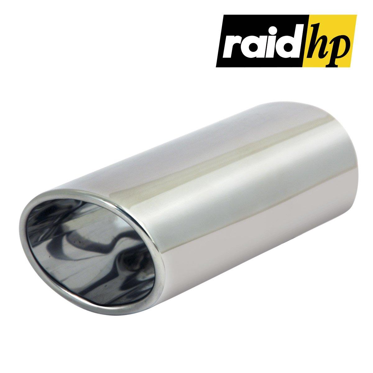 Anschlu/ßma/ß 150 mm 35-50 mm//L/änge Raid HP 291003 Auspuffblende Oval