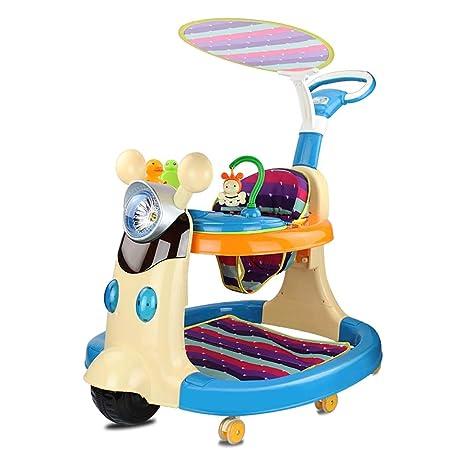 LFY Andador para bebé 6/7-18 Meses antivuelco, Puede Empujar y ...