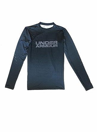 Under Armour Mens UA HeatGear Anti odor Compression Long sleeve Shirt Top ...